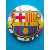 """Значок с Логотипом Футбольного Клуба """"Барселона"""" Испания - Диаметр 3.5 см."""