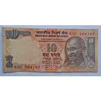 Индия, 10 рупий, 2014г., UNC