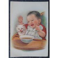 Ли Му-Бо. Резвый мальчик. Китай. 1950-е Чистая