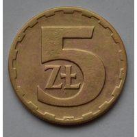 Польша 5 злотых, 1975 г.