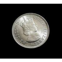 СОСТОЯНИЕ  AU - UNC   Малайя и Британское Борнео 10 центов, 1961 г.