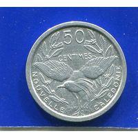 Новая Каледония 50 сантимов 1949 , XF