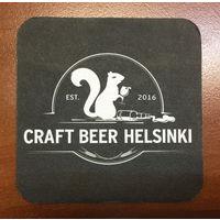 Подставка под пиво Craft Beer Helsinki
