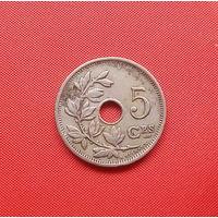 69-14 Бельгия, 5 сантимов 1925 г. (французский тип)