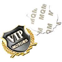 """3D логотип """"VIP Motors"""". металлическая,  хромовая эмблема, значок наклейка для автомобиля. распродажа"""