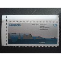 Канада 1984 корабли в море