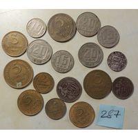 Сборный лот монет СССР дореформа