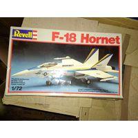 1/72 Revell F-18 Hornet -  модель выпуска 1988 года