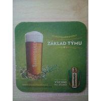 Бирдекель (подставка под пиво) Staropramen/Чехия