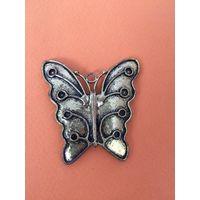 Бабочка  Латунь/бронза