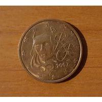 2 евроцента 2007 Франция