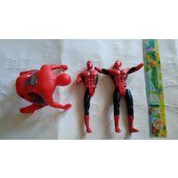 Человек-паук на запчасти