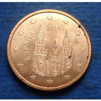 Испания 5 евроцентов 2018