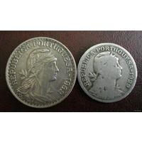 Португалия. 2 монеты 1929,1962 г.
