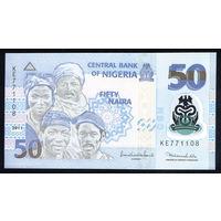 NIGERIA/Нигерия_50 Naira_2011_Pick#40.b_UNC