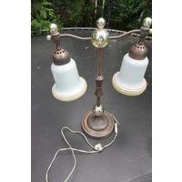 Лампа настольная времён СССР