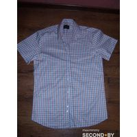 Рубашка мужская в клеточку Элиз 41 новая