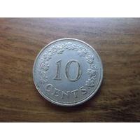 Мальта 10 центов 1972 (2)