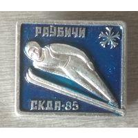 Значок.  Раубичи. СКДА-85.)