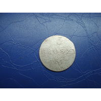 5 грошей 1812 со следами перечекана               (4774)