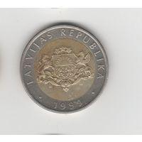 2 лата Латвия 1999 Лот 4886