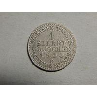 Пруссия 1 зильбергрошен 1844г