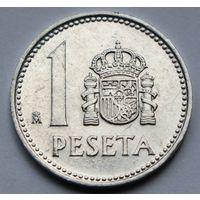 Испания 1 песета, 1986 г.