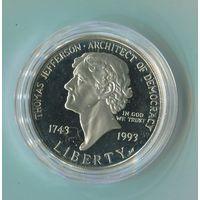 1 доллар 1993