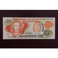 Филиппины 20 песо 1970 UNC