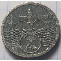 Чехословакия 2 геллера, 1924         ( 6-8-2 )
