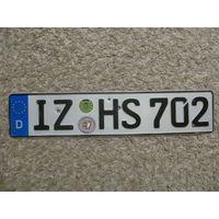 Автомобильный номер Германия IZHS702