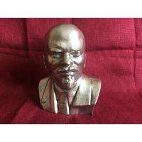 Бюст Ленин 16см силумин