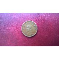 Тайвань 1 доллар, 1981г. (а-7)