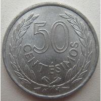 Уругвай 50 сентесимо 1965 г.