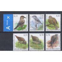 [356] Бельгия.Фауна.Птицы. 6 чистых марок.
