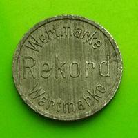 Токен 20 Wertmarke Rekord - цинк