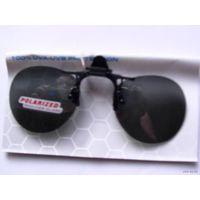 Солнцезащитные очки. насадка на очки. средняя с зажимами 1    распродажа