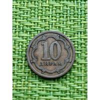 Таджикистан 10 дирам, 2006 год
