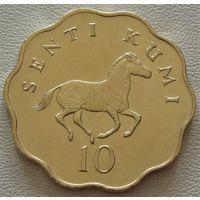 Танзания. 10 сенти(центов) 1979 год  KM#11