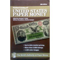Standard Catalog of United States Paper Money 2009г (28 издание)