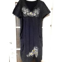 Платье летнее, х/б, р-р 56-58, по цене майки