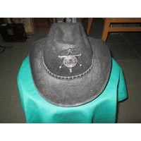 С 1 рубля.Шляпа Шерифа карнавальная