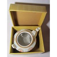 Чайник заварочный для чая и кофе с ситечком(1,5л)-No3