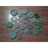 Монеты империи на пано