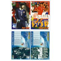 Национальная сборная Чехии/ Большие карточки-открытки игроков 18 шук/ Сезон 2009г.