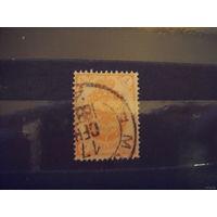 1888 Царская Россия Загорский 44 без стрелок герб