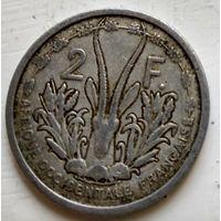 Французская Западная Африка 2 франка, 1948 3-1-23