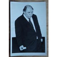 Народный артист СССР Евгений Леонов. Фото на творческой встрече в г.Капустин Яр. 1977 г