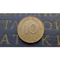 10 пфеннигов 1990 (J) Германия ФРГ #10