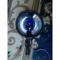 Лампа синяя,рефлектор Минина.